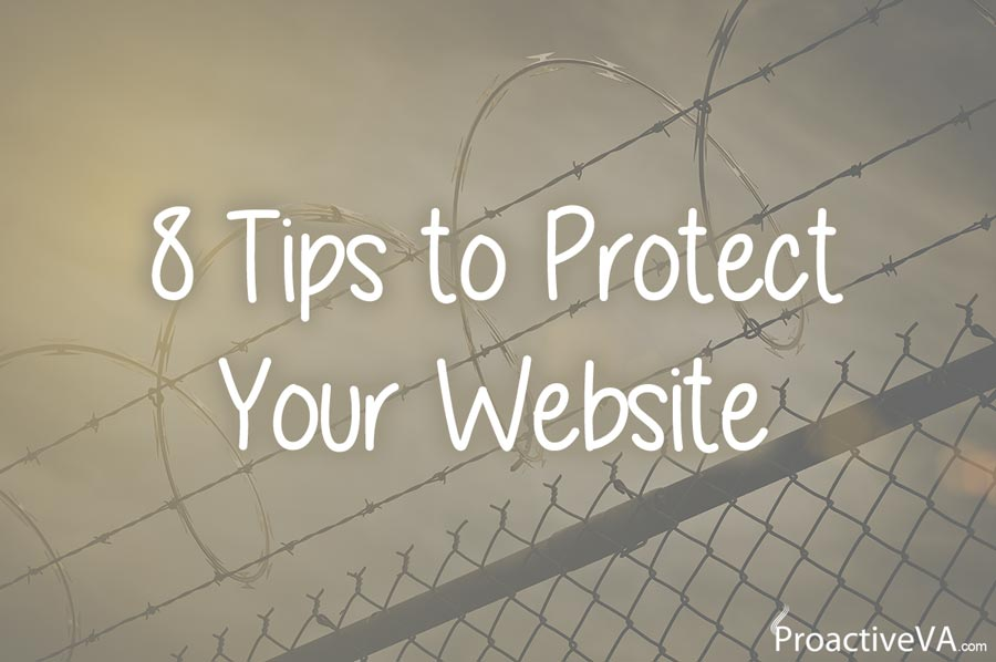 8 Tips to Protect Your Website