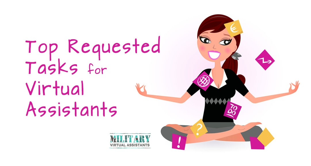 Top Task Requests for Virtual Assistants