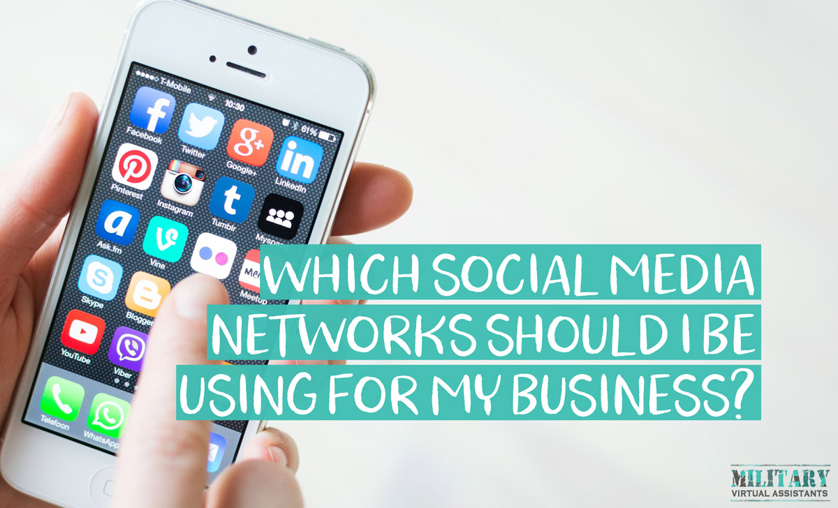 Which Social Media Networks Should I Be Using as a Virtual Assistant