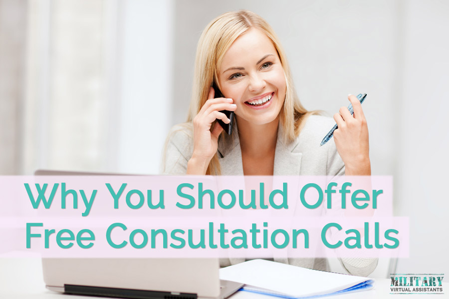 Why You Should Be Offering Free Consultation Calls
