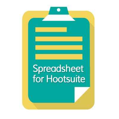 Excel Spreadsheet for Hootsuite