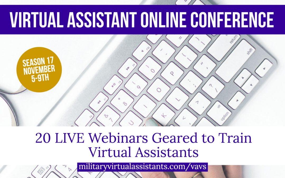 Attend the #1 Virtual Assistant Online Conference!